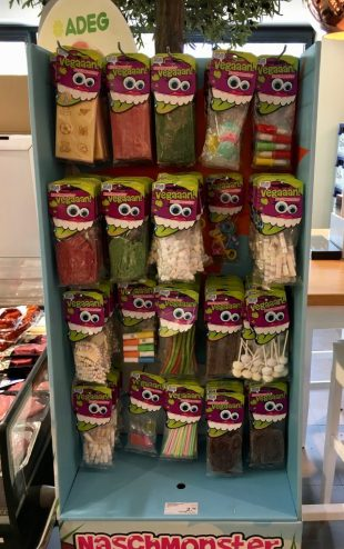 Süßwaren aus Zuckerkomprimat Zweitplatzierung