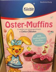 Küchle Oster-Muffins Backmischung Schoko