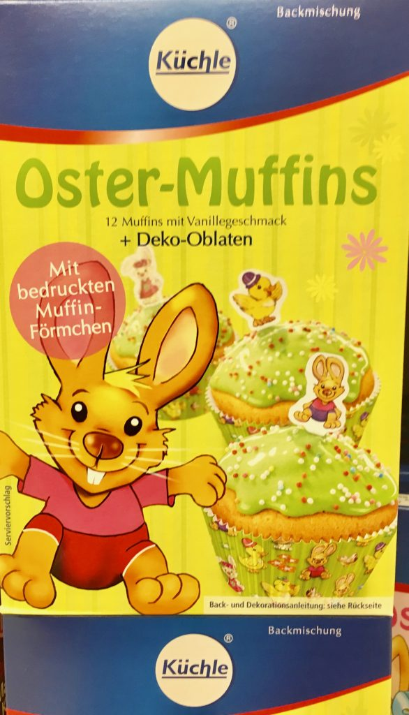 Küchle Oster-Muffins Vanille Backmischung