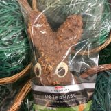 Schokohase der Spar-Eigenmarke: Leider sieht es mit Nuss-Schokolade eher nicht so lecker aus.