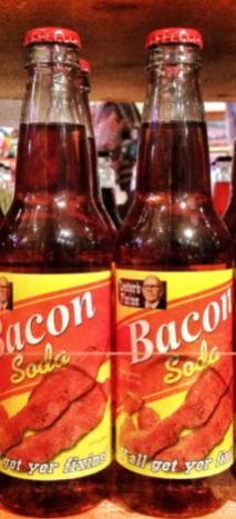 Bacon Soda Rocket Fizz Speck Pop