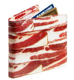 Portemonnaie Speckstreifen Bacon Wallet
