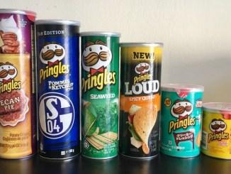Systematik der Pringles-Dosengrößen