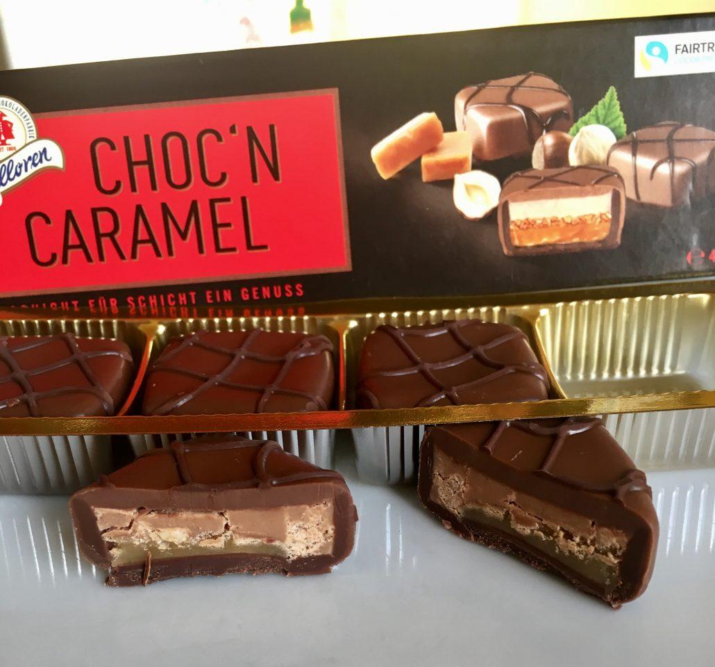 Halloren Choc'n Caramel Pralinen Kleinpackung