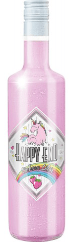 Happy End Einhorn Likör