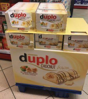 Ferrero Duplo Riegel Weiße Schokolade