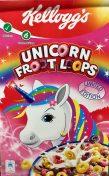 Unicorn Frootloops von Nestlé mit Unicorn-Flavour.