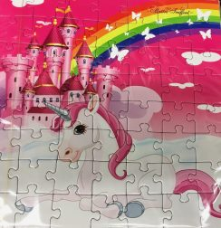 Maitre Truffaut Einhorn Puzzle mit Schokolade Guntz