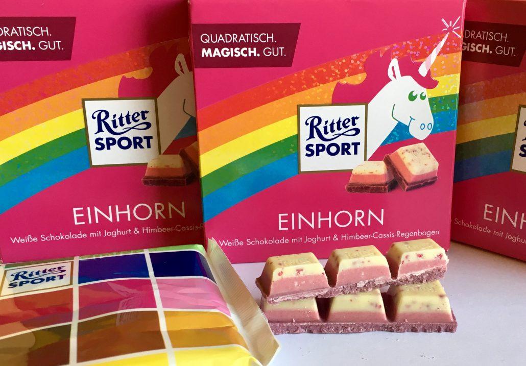 Überall Einhörner: Unicorn-Trend macht vor Süßwaren nicht halt