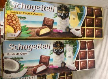 Schogetten mit Batida de Coco