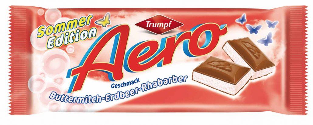 Trumpf Aero Sonderedition Buttermilch-Erbeer-Rhabarbar