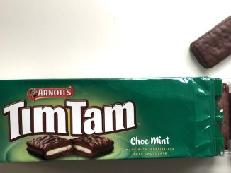 Arnott's TimTam Choc Mint Kekse mit Minzschokolade