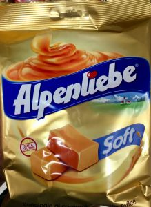 Alpenliebe soft Caramel Toffee