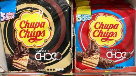 ChupaChups Waffeln Schoko