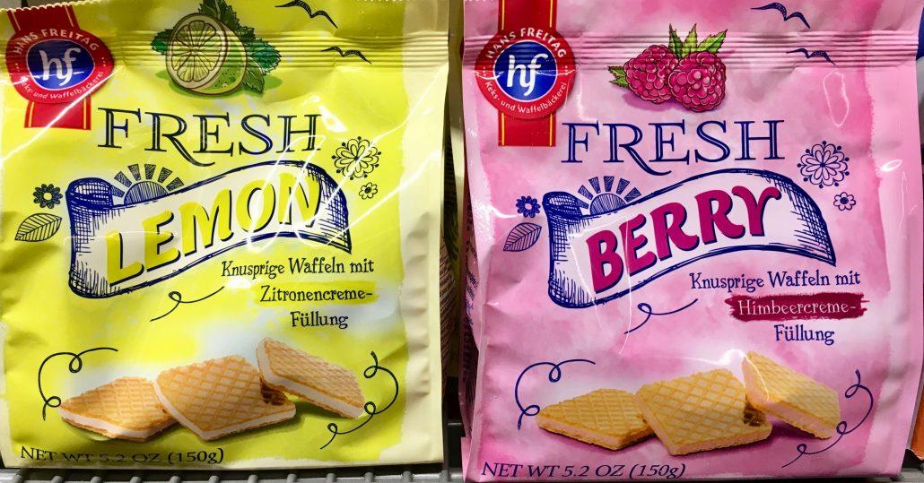 Hans Freitag Waffeln Lemon und Berry