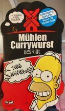 Mühlen Currywurst gegrillt Simpsons