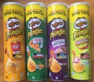 "4 Pringles der Edition ""Food Truck"":"