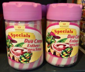 Winsenia Specials DuoCreme Erdbeer Aufstrich
