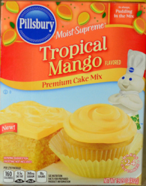Pillsbury Tropical Mango Cake Mix