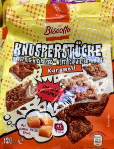 Biscotto Knusperstücke Karamell