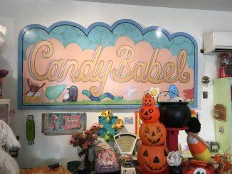 Candy Babel Portland Sign