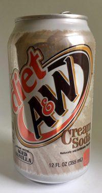 Diät-Rootbier Cream Soda von A+W
