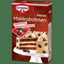 Dr Oetker Feine Mokkabohnen Zartbitter