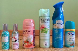 Carefour fresh Duftsprays Aromen