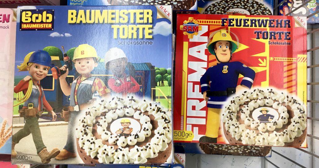 Hack: Bob der Baumeister-Torte und Feuerwehrmann-Torte