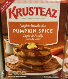 Krusteaz Pumpkin Spice cupcake