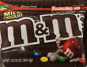 M+M Milk Chocolate Sharing Size