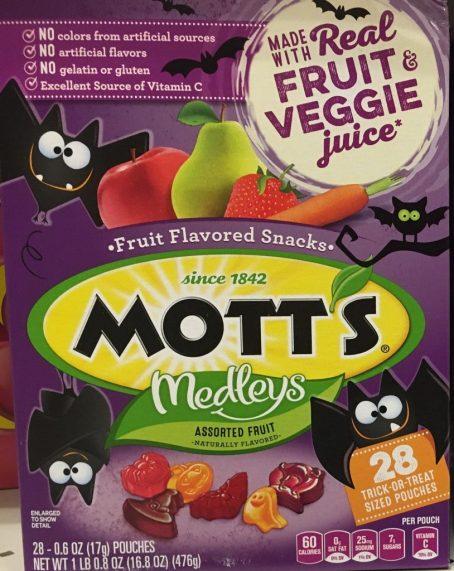 Motts Medleys Halloween Gummibare