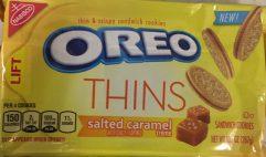Oreo Blonde Thins Salted Caramel
