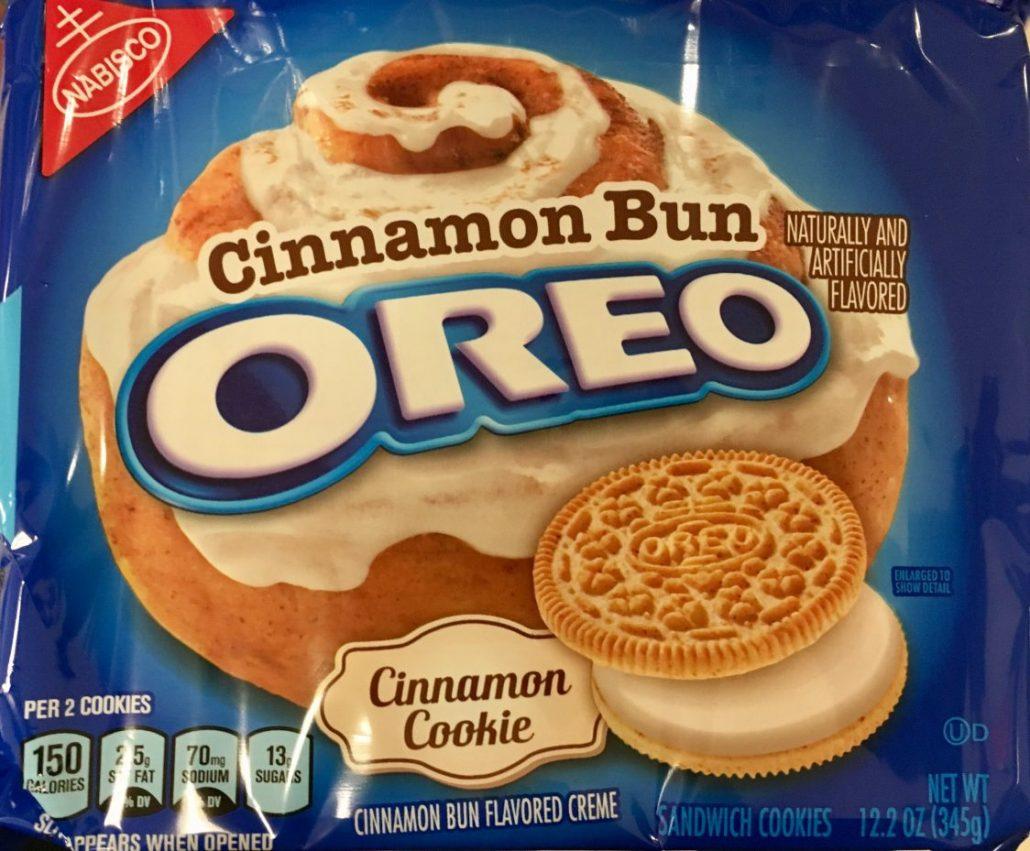 Oreo cinnamon Bun Zimt
