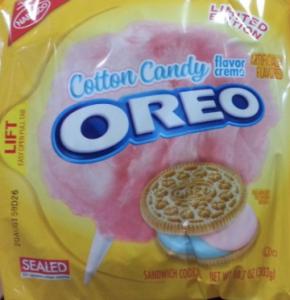 Oreo Cotton Candy