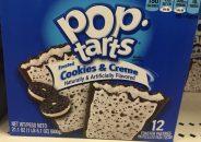 Poptarts mit Cookies+Cream-Geschmack Poptarts Cookies+Creme