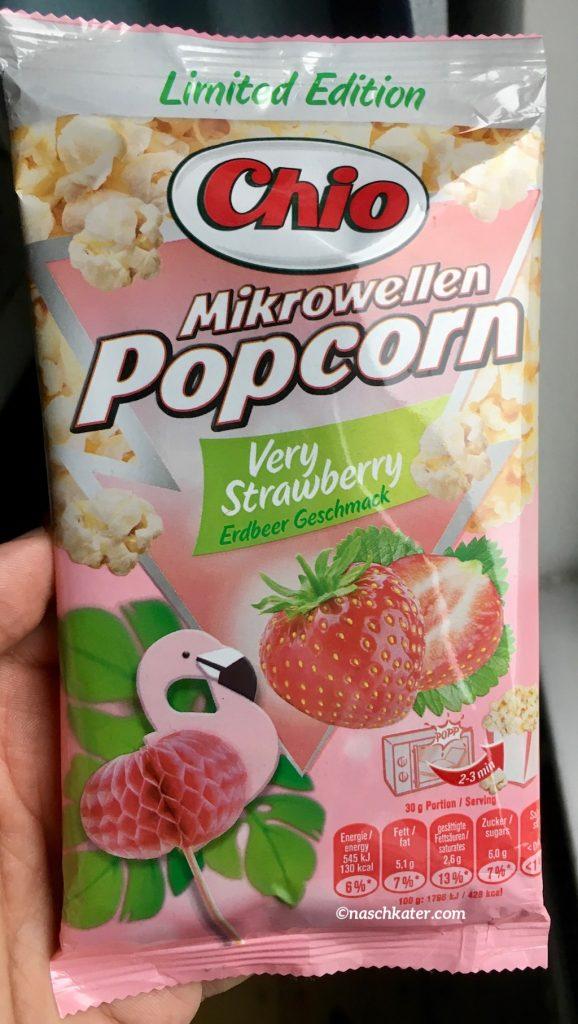 Mikrowellen-Popcorn mit Erdbeere, Wasabi oder Speck