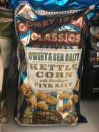 Coney Island Classics Sweet+Sea Salty Kettle Corn with Hamalyan Pink Salt