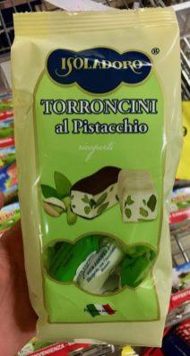 Isoladore Torroncini al Pistacchio Italien Torrone
