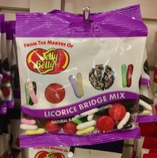 Jelly Belly Licorice Bridge Mix Lakritz