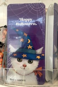 See's Candy Happy Holloween Katzenmotiv