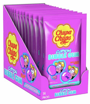 ChupaChups Cotton Bubble Gum