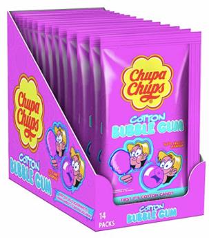 ChupaChups Cotton Bubble Gum