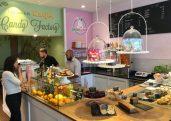 Katjes Grün-Ohr Cafe Tresen