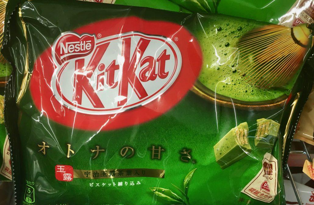 Kitkat Matcha Japan