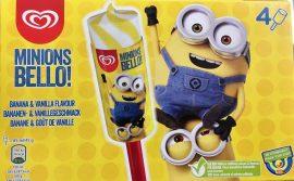 Langnese Unilever Stileis Minion Eis