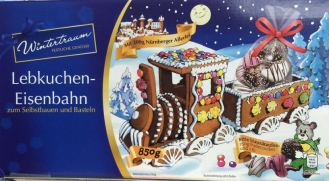 Lebkuchen-Eisenbahn