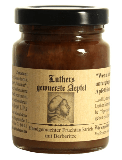 Luther Fruchtaufstrich Gewürzte Äpfel Margitta Braun