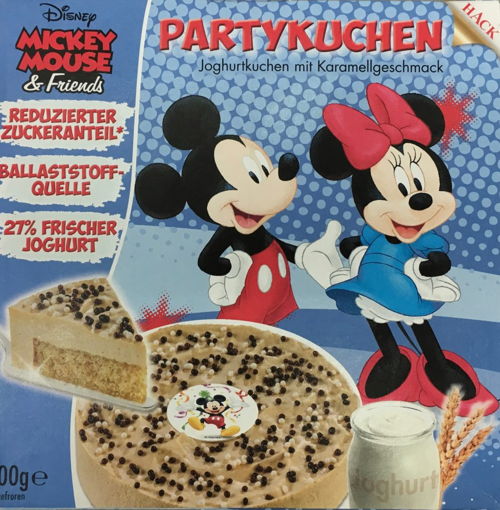 Mickey Mousse Partykuchen