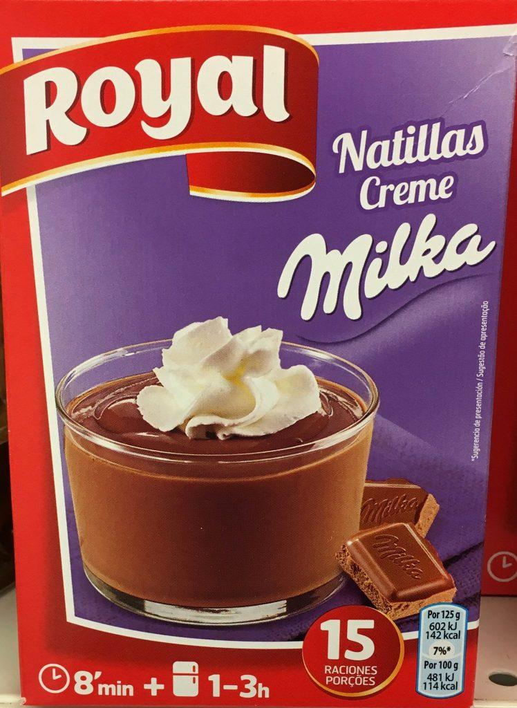 Royal Milka Puddingcreme